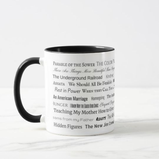 Book Collection Mug