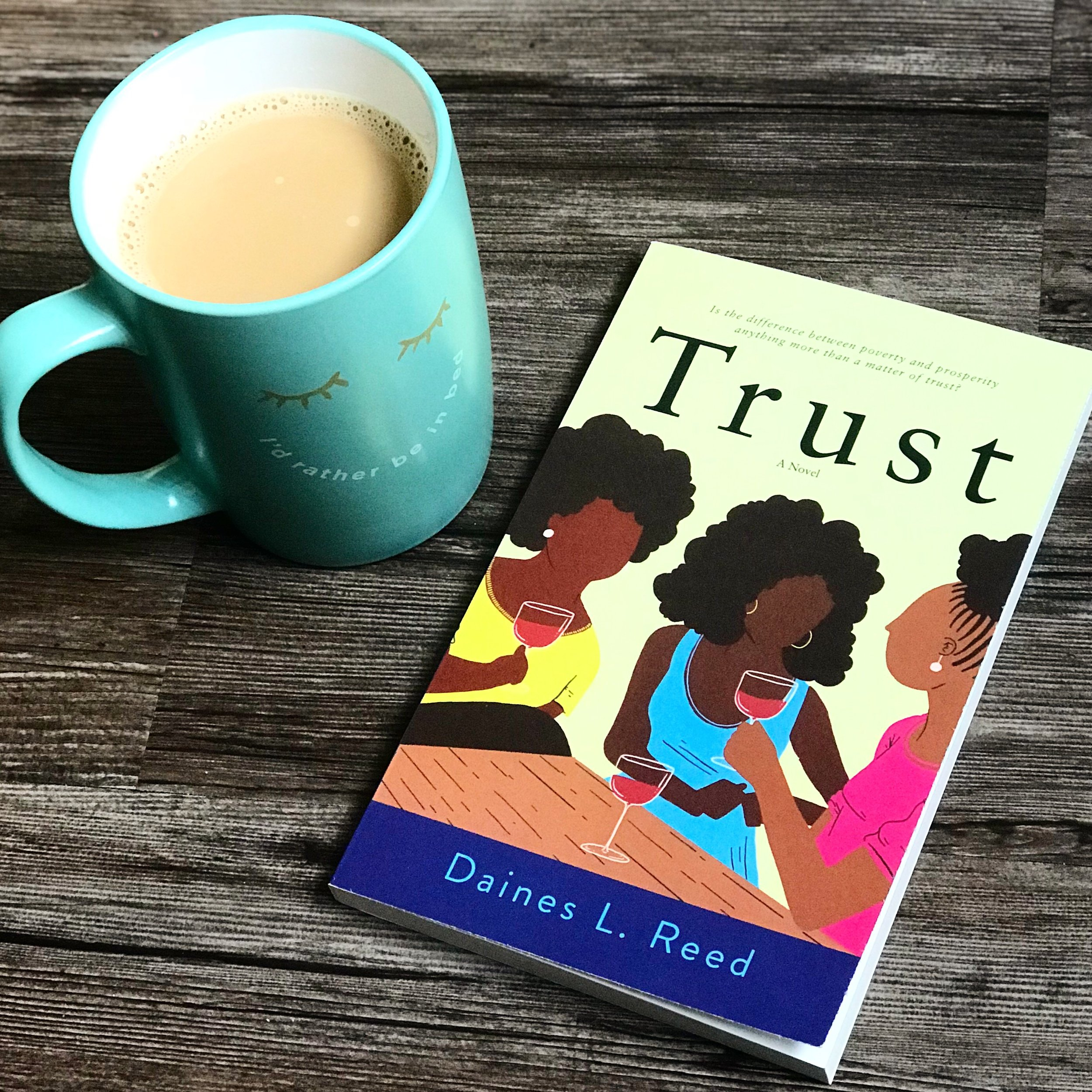 """Trust"" by Daines Reed, photograph by Black & Bookish"