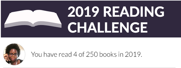 Black & Bookish 2019 Goodreads Reading Challenge