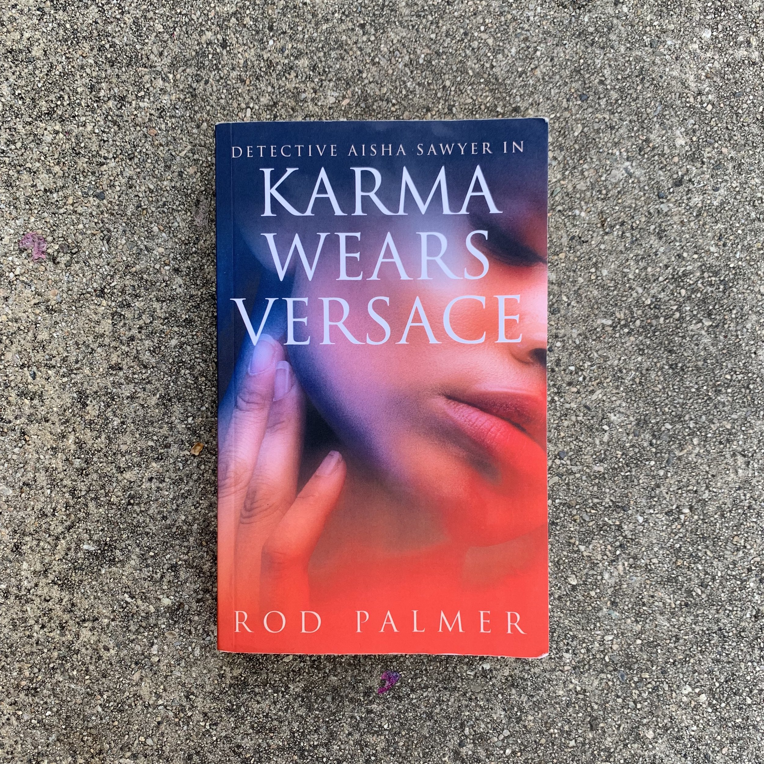 Karma Wear Versace Book Cover by Black & Bookish