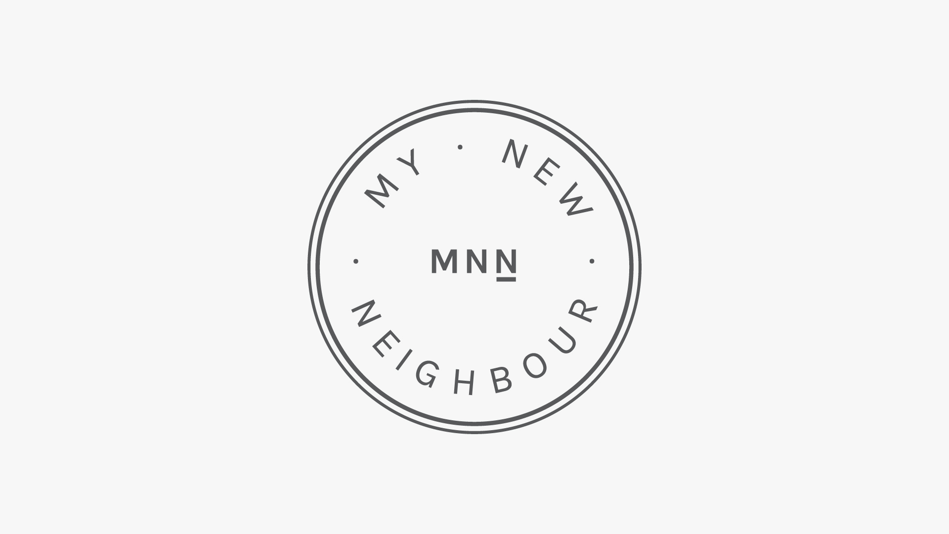 My New Neighbour Branding
