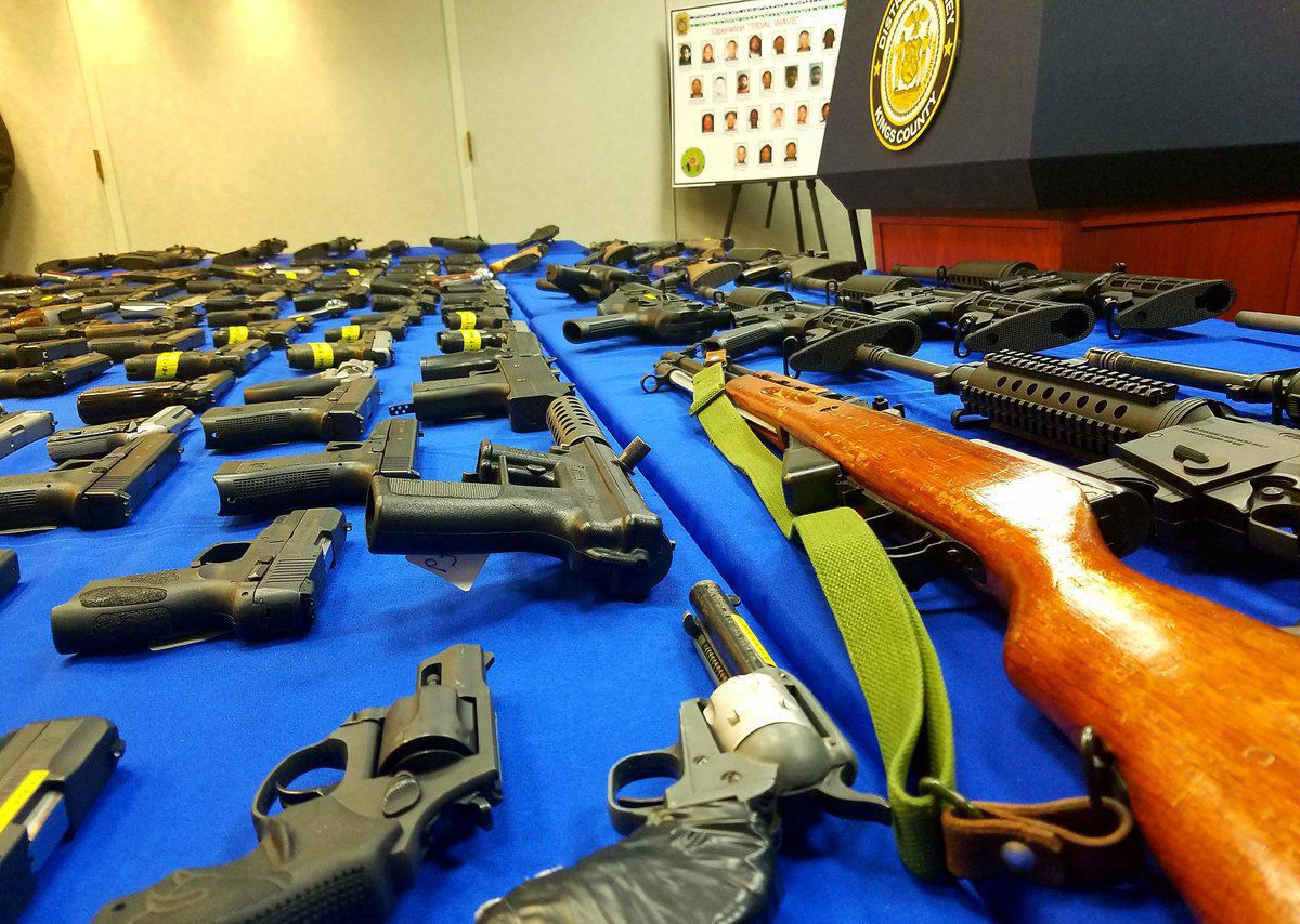 More than 200 guns seized in New York CIty were purchased in Virginia.