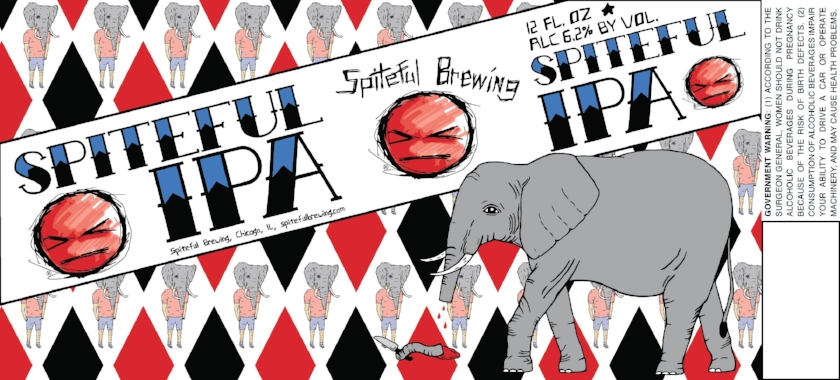 Spiteful IPA is one of Spiteful Brewing's flagship beers available in a 6-pack of 12oz. cans.