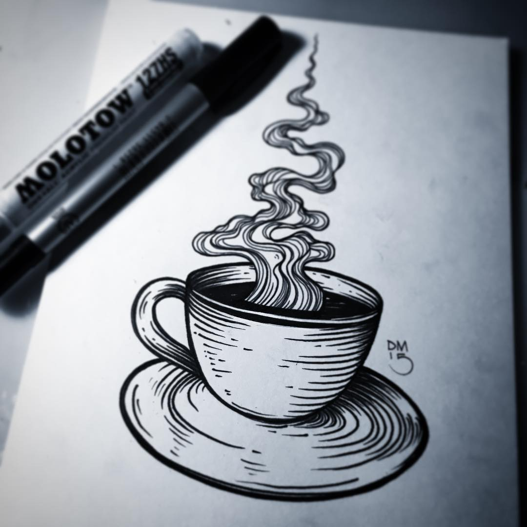 A single cup of coffee never looked so good