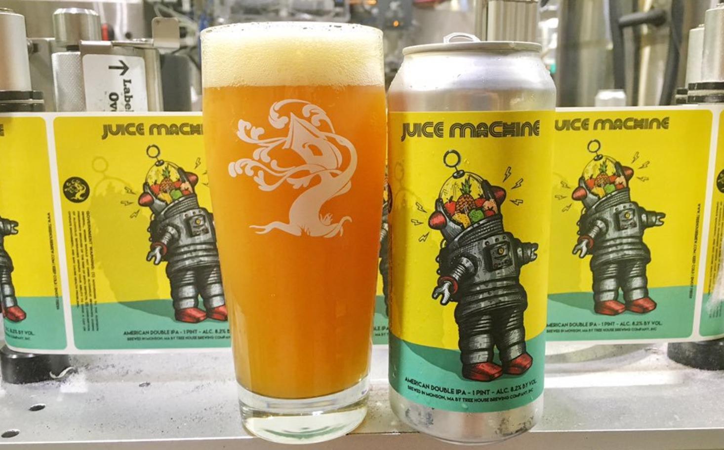 Juice Machine - great beer and artwork.