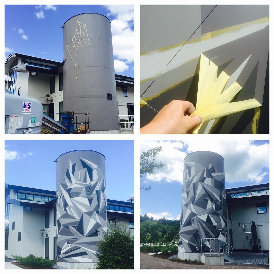 The phases of the Silo Mural