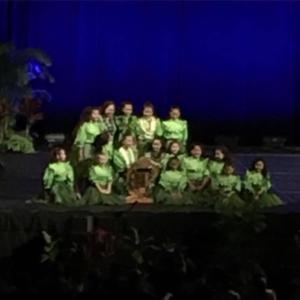 2017   Keiki hula malia craver perpetual language award