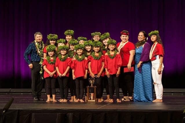 2019 | Queen Lili'uokalani Keiki Hula Competition  5th place hula Kahiko kaikamahine