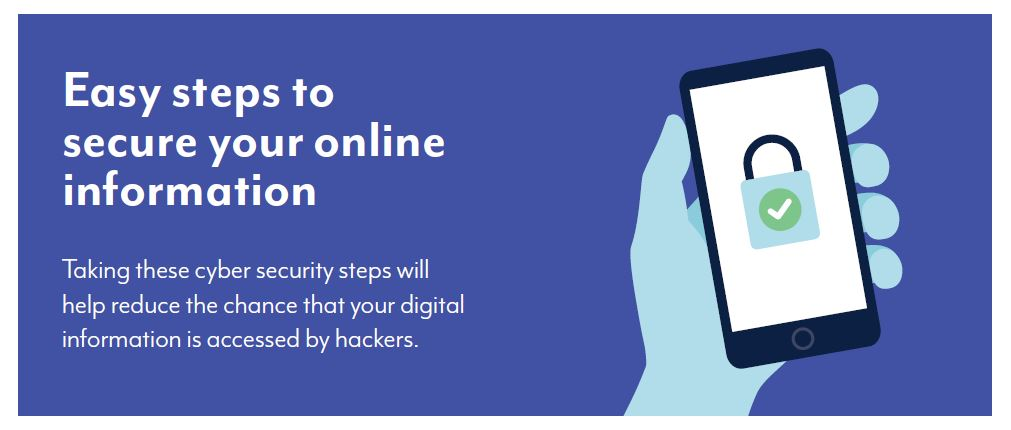 Easy steps you can take to secure your online information