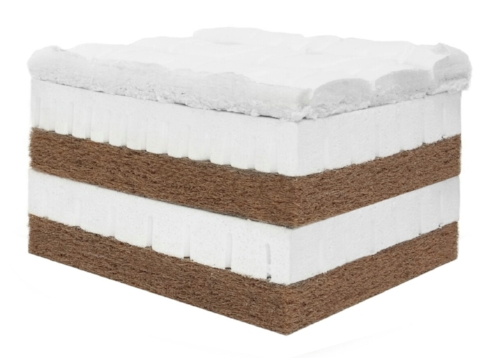 Colva mattress made with organic coconut husks from Palmpring. Photo: Palmpring.