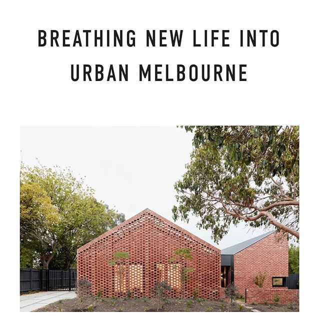 NEW BLOG POST // Take a look inside Bardolph Gardens - two environmentally sustainable homes in Glen Iris, Melbourne designed by Breathe Architecture. The new single story dwellings have transformed under-utilised open space at the rear of two existing California bungalows into carefully considered, affordable rental accommodation. 🌿 Check out the full blog post and more pics via the link in bio. 🌿 Architect: @breathearchitecture  Builder: Greg Scott Constructions Photography: @tomross.xyz