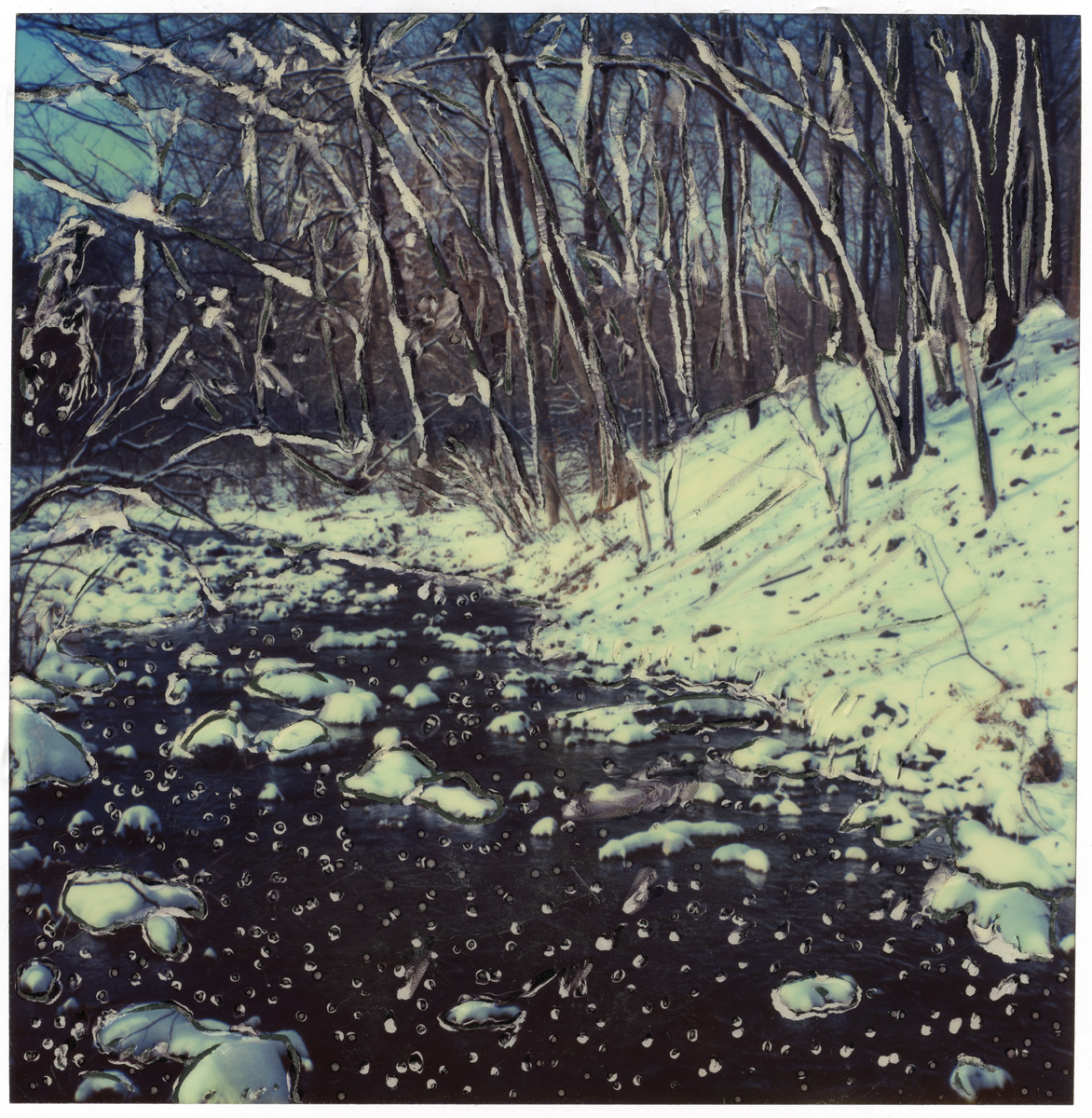 "Arthur Rosato ""Snow and Stream"""