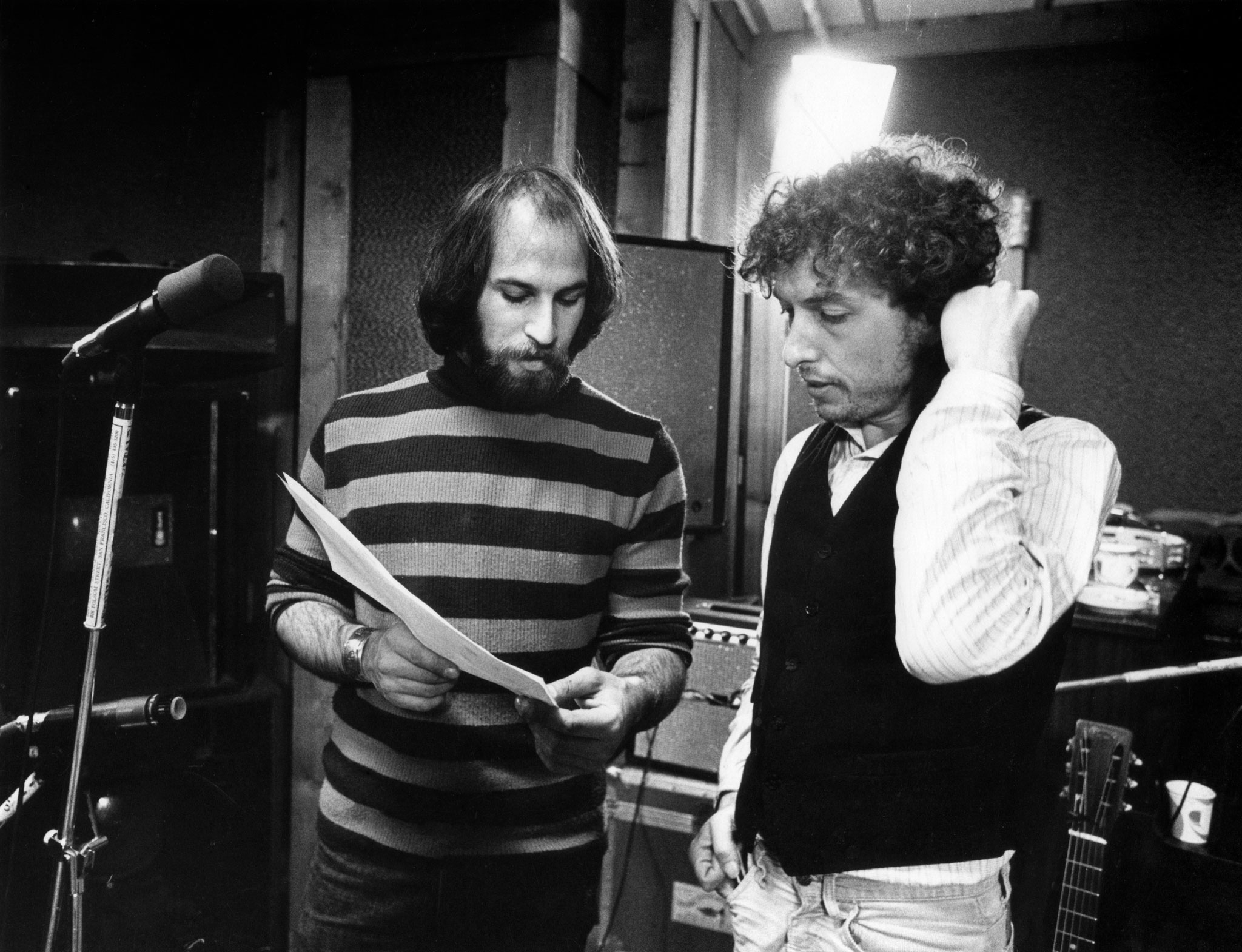 Arthur Rosato with Bob Dylan by Ken Regan