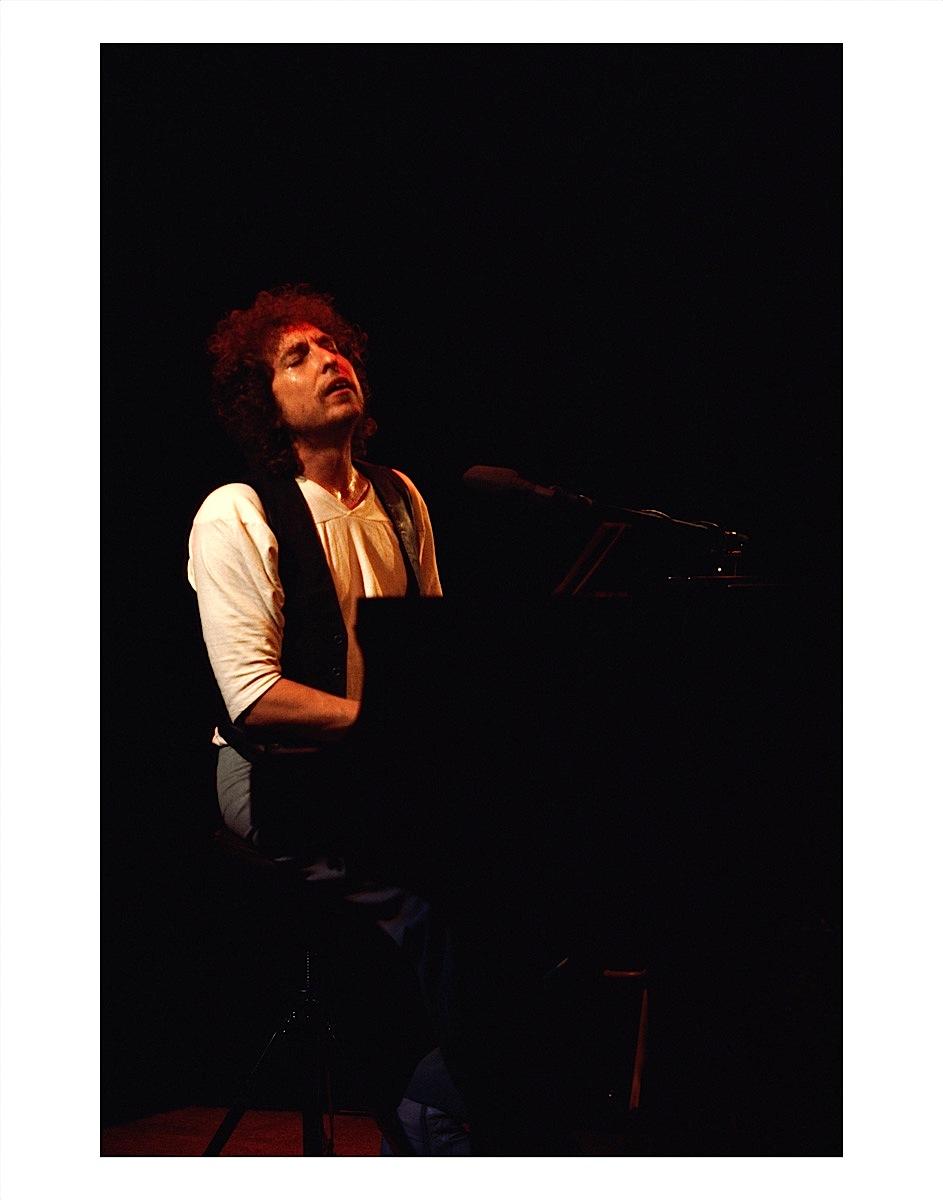 Bob Dylan at Piano by Arthur Rosato