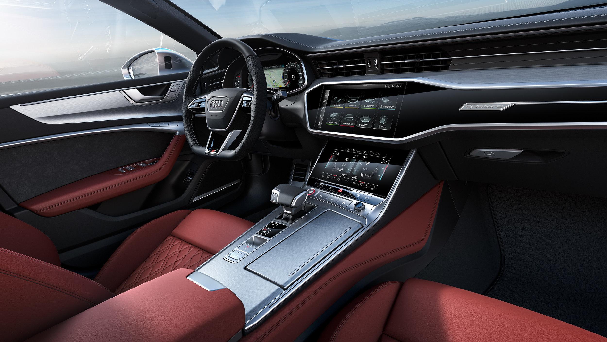 © Audi S7 Interior