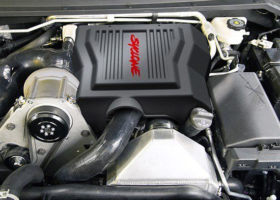 ©GMC and Specialty Vehicle Engineering 2019 GMC Syclone Engine Bay