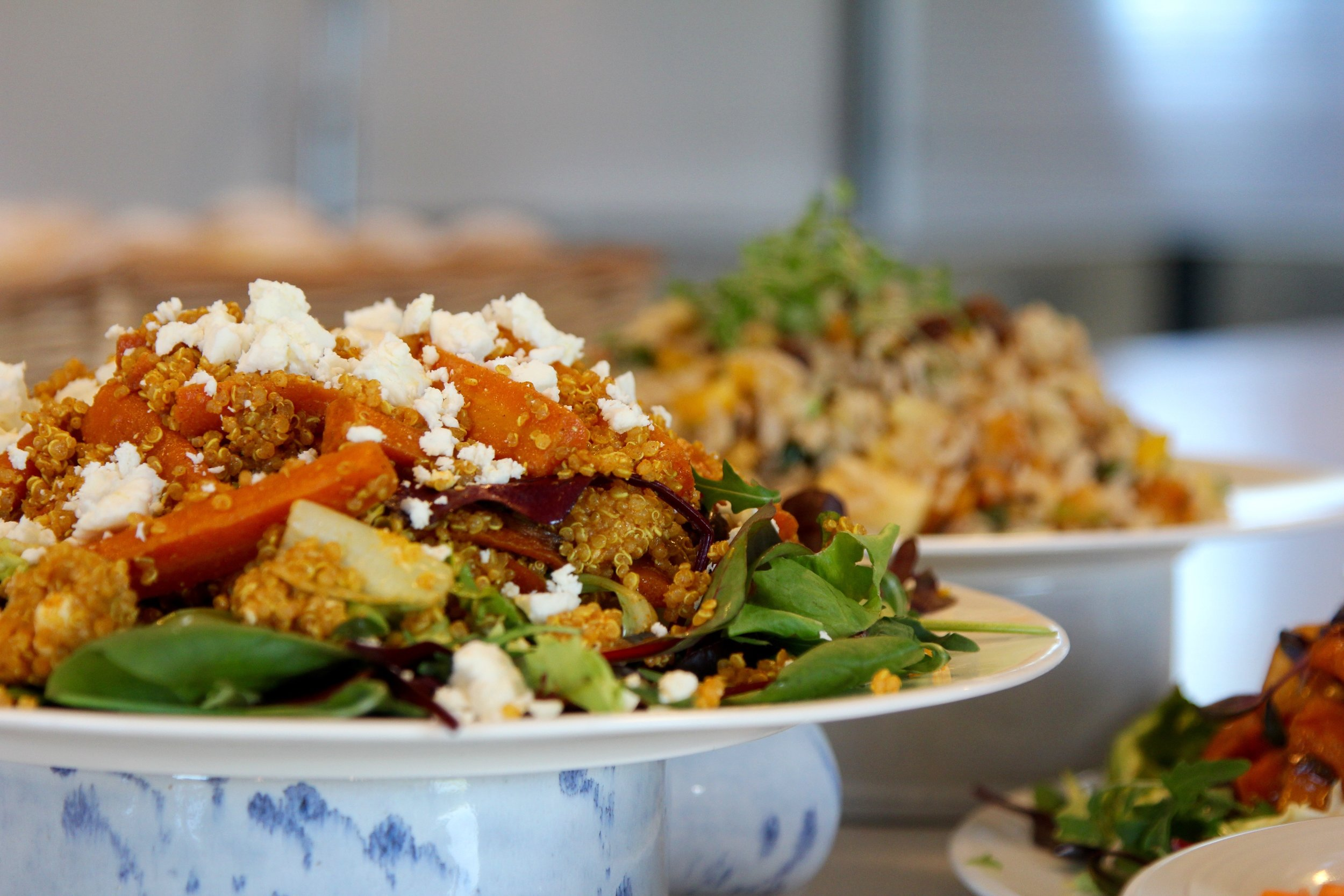 Spiced carrot and Quinoa salad