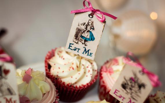 Alice in Wonderland Eat Me Tags