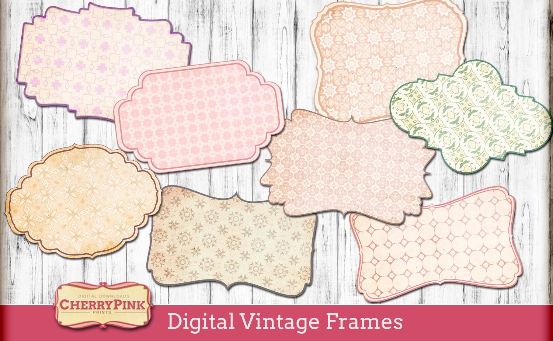 Digital Vintage Frames
