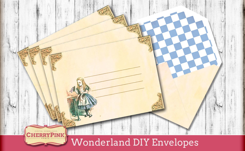Wonderland-DIY-Envelopes