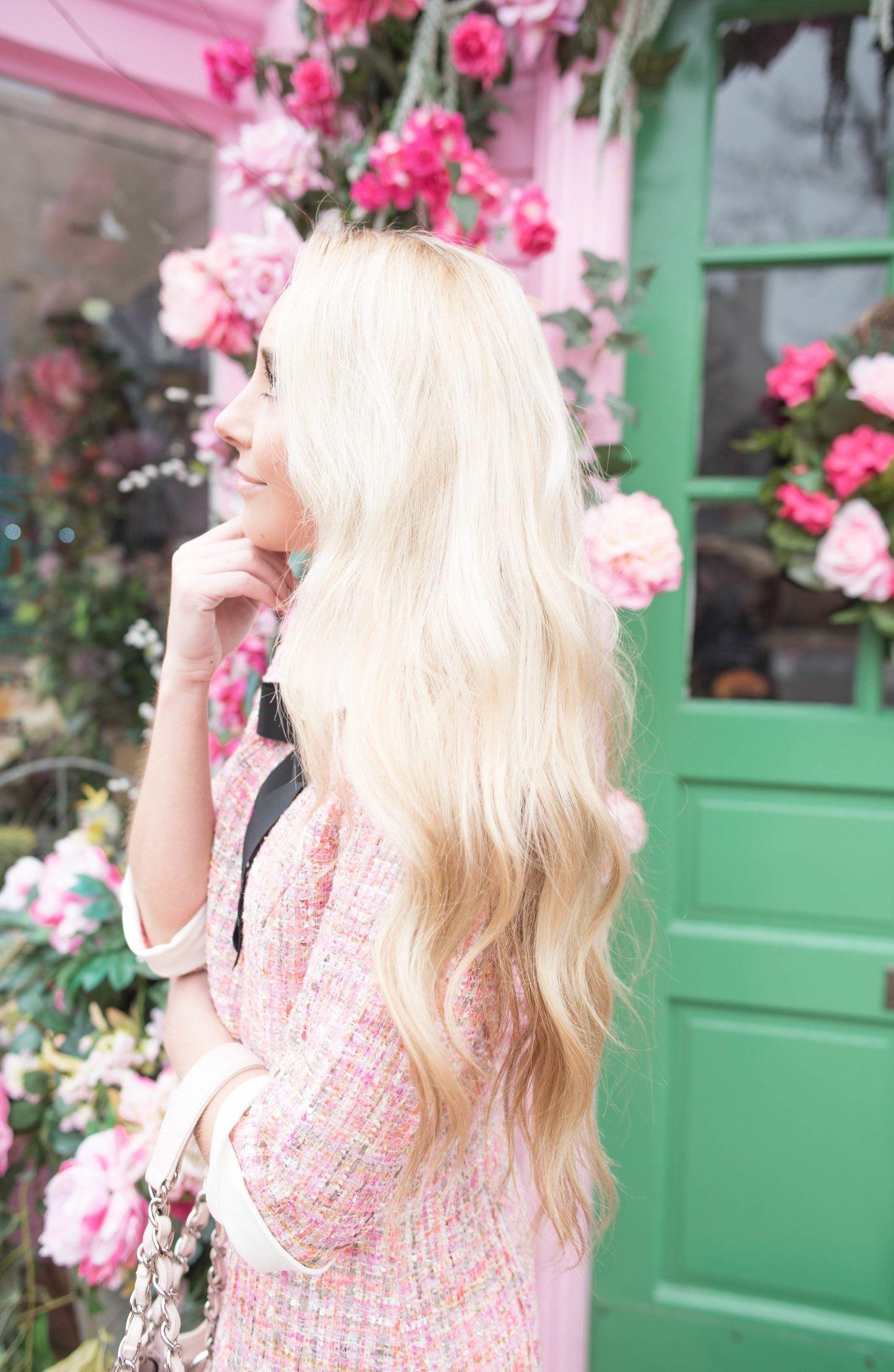 spring tweed dress