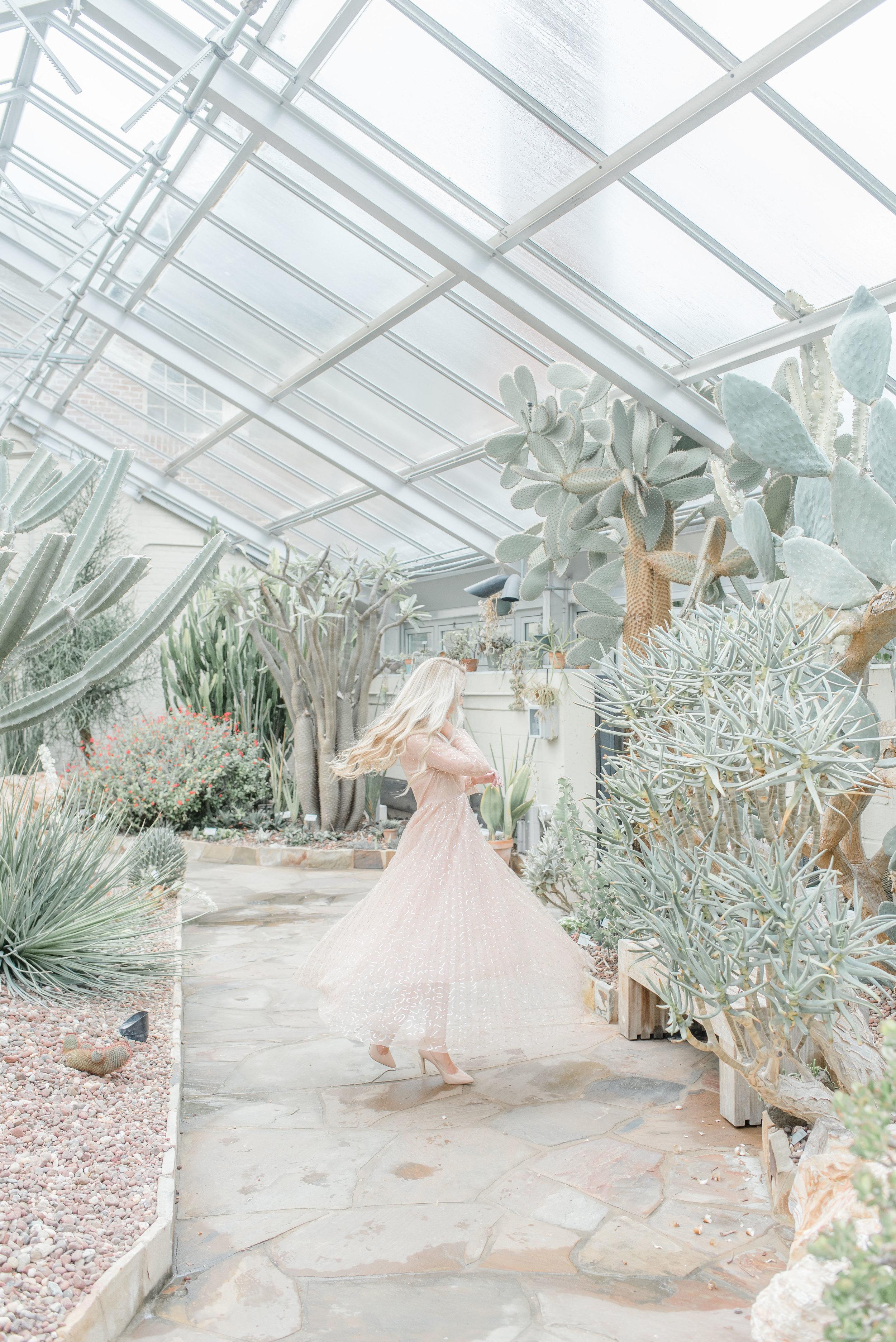 conservatory photoshoot