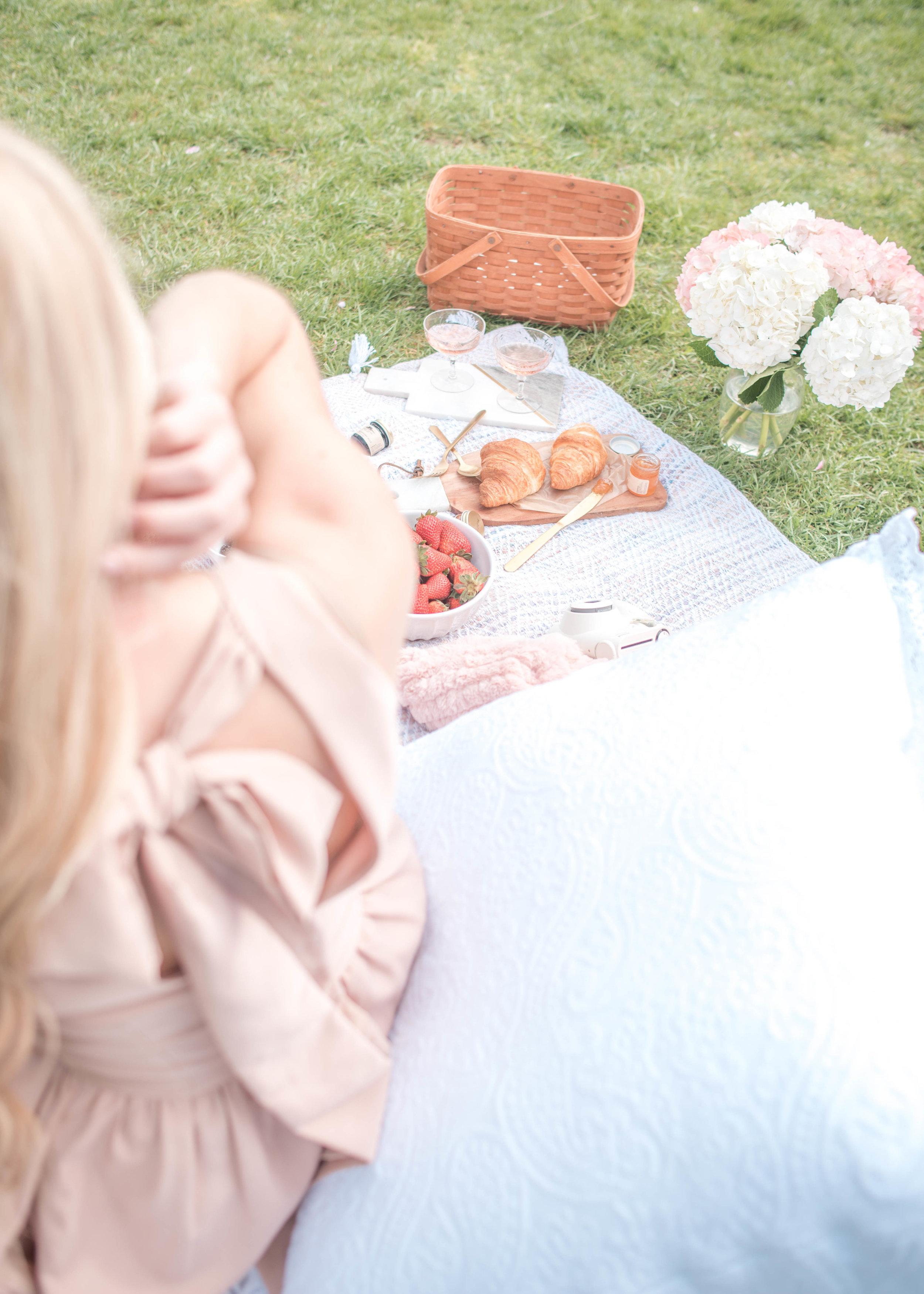 pretty Spring picnic