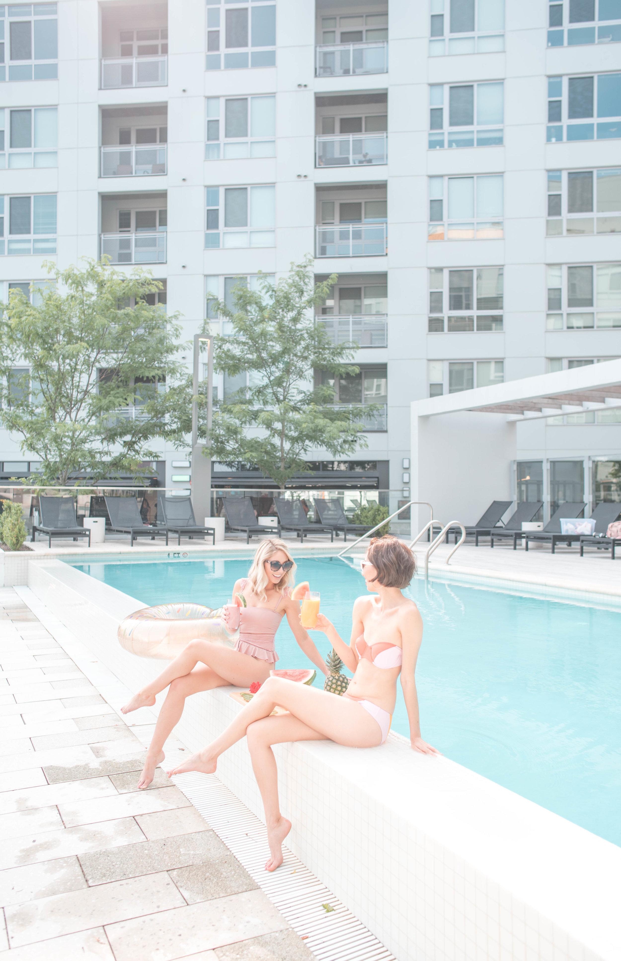 summer ready poolside