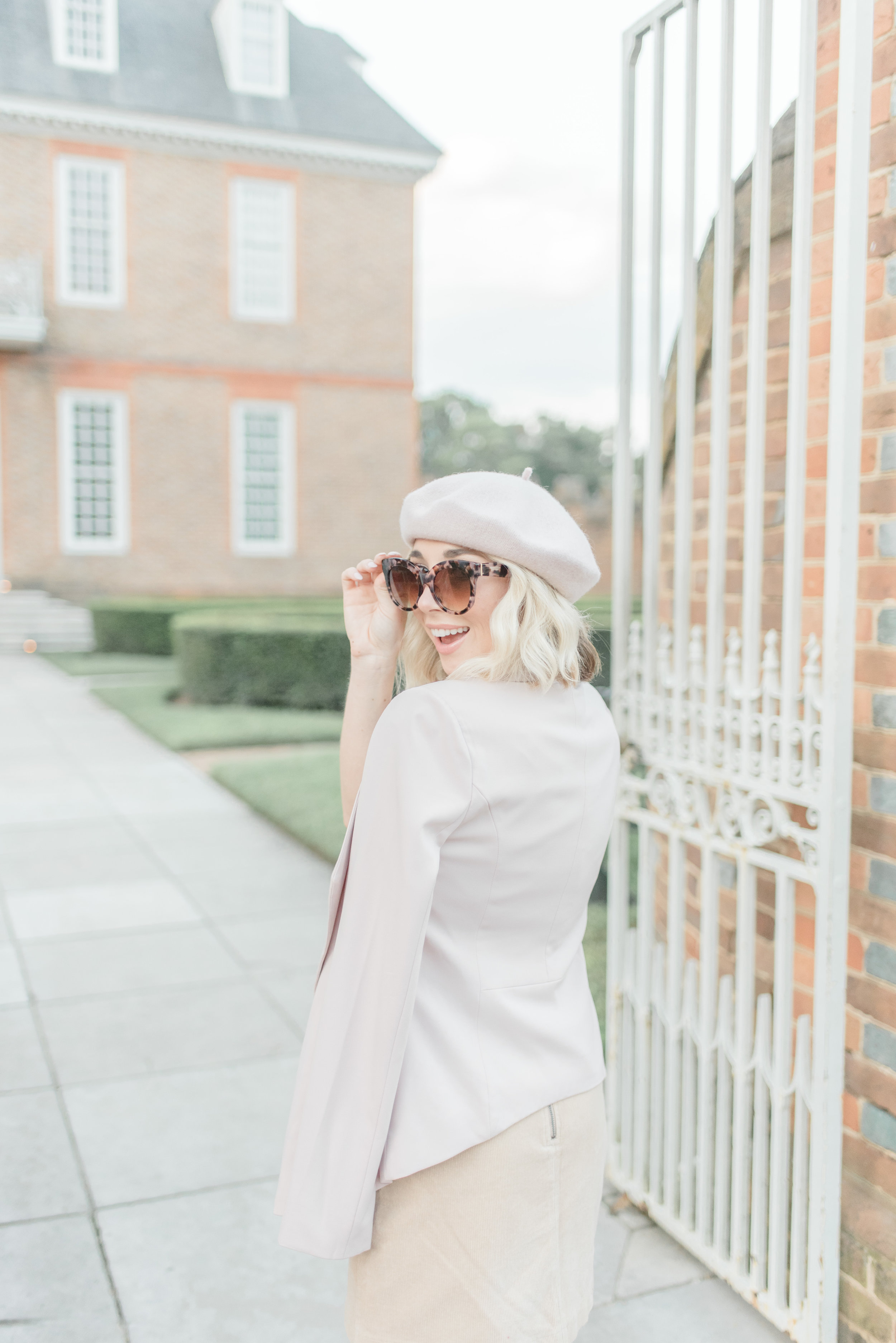 blush pink style for Fall