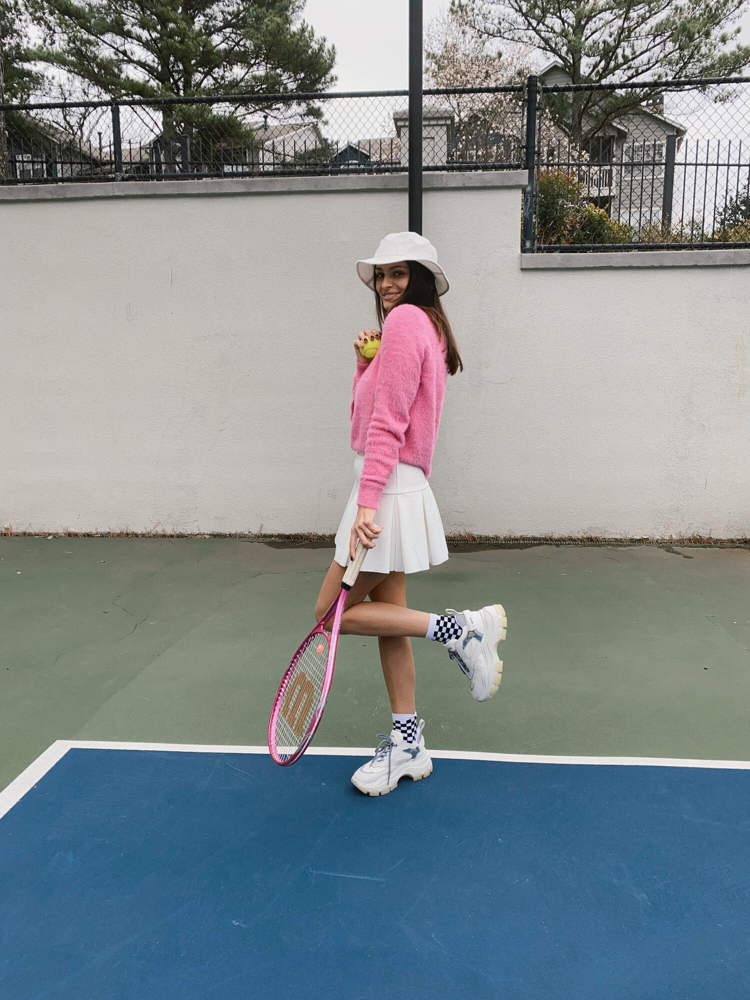 Sporty Chic Cute Tennis Outfits Anna Elizabeth