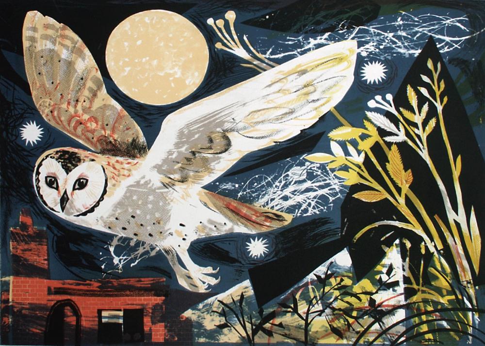 Mark Hearld 'Owl Flight'