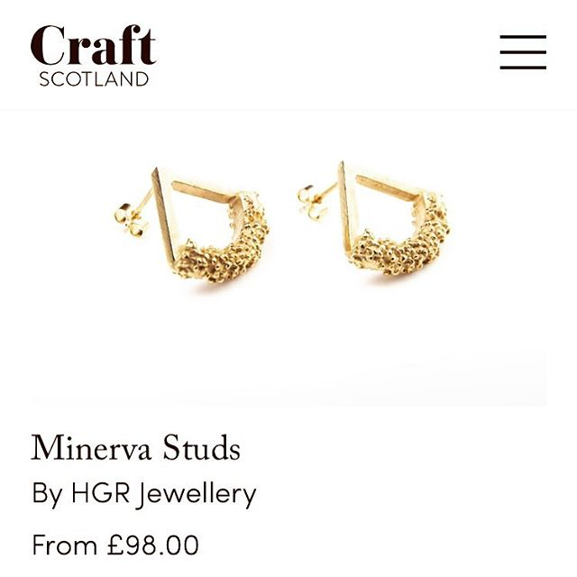 Did you know that you can now shop HGR Jewellery on the brand new Craft Scotland website? Visit www.CraftScotland.org to view the full range!  @craftscotland #goldjewellery #silverjewellery #granulation #handmadejewellery #handmadeinscotland #handmadeintheuk #goldearrings #silverearrings #britishbrand #scottishfashion