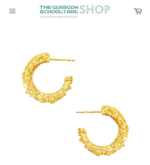 Did you know that you can now buy HGR Jewellery from Glasgow School of Art's online shop, as well as in store? Go to www.gsashop.co.uk or add @theglasgowschoolofartshop to your list of places to visit the next time you're in Glasgow!  #glasgowschoolofart #glasgow #thingstodoinscotland #thingstodoinglasgow #visitscotland #GSA #handmadejewellery #goldjewellery #granulation #scottishcraft #handmadeinscotland