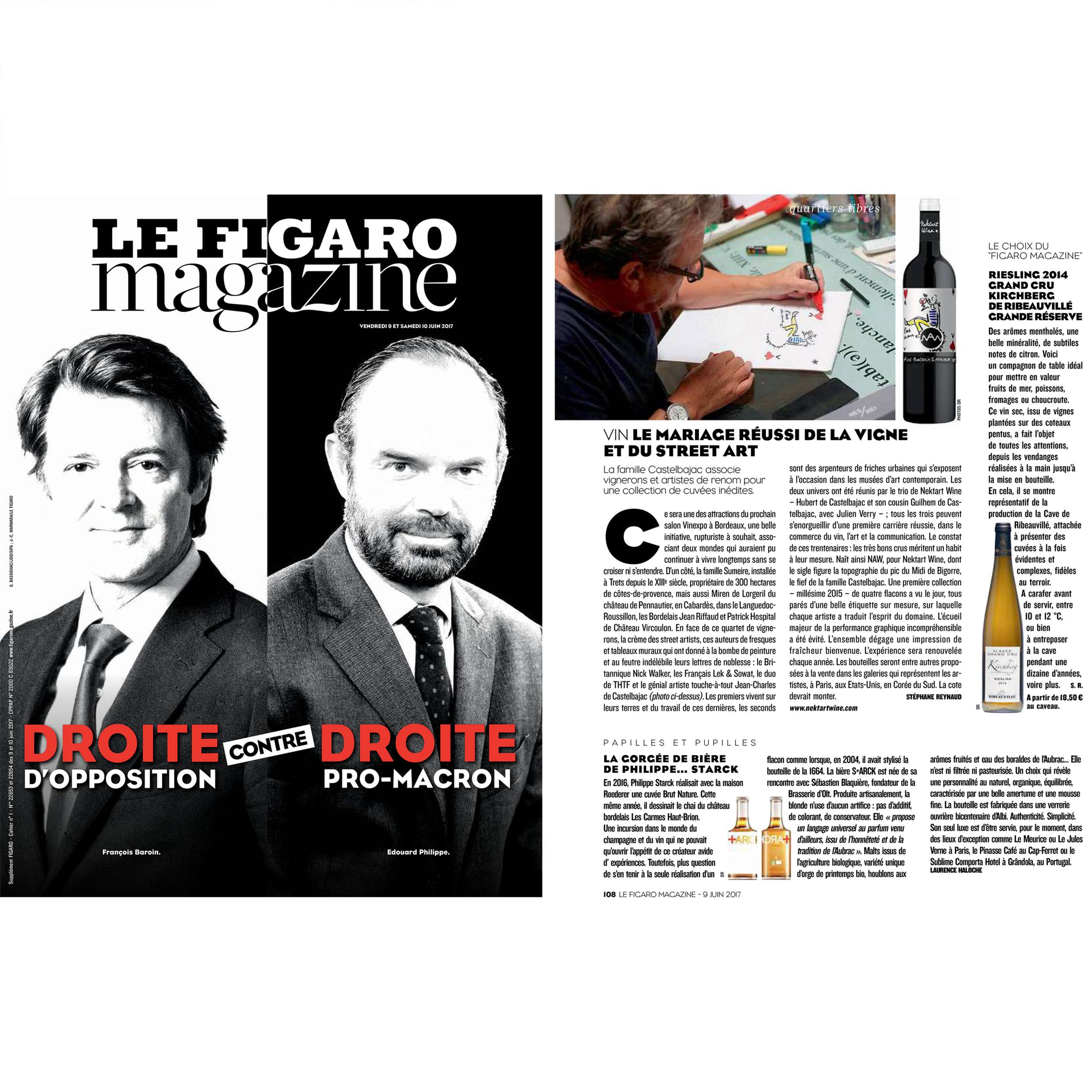 LE FIGARO MAGAZINE  June 2017
