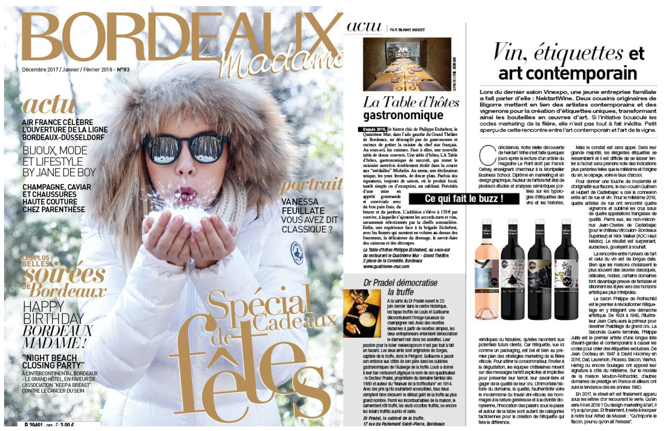 BORDEAUX MADAME  December 2017