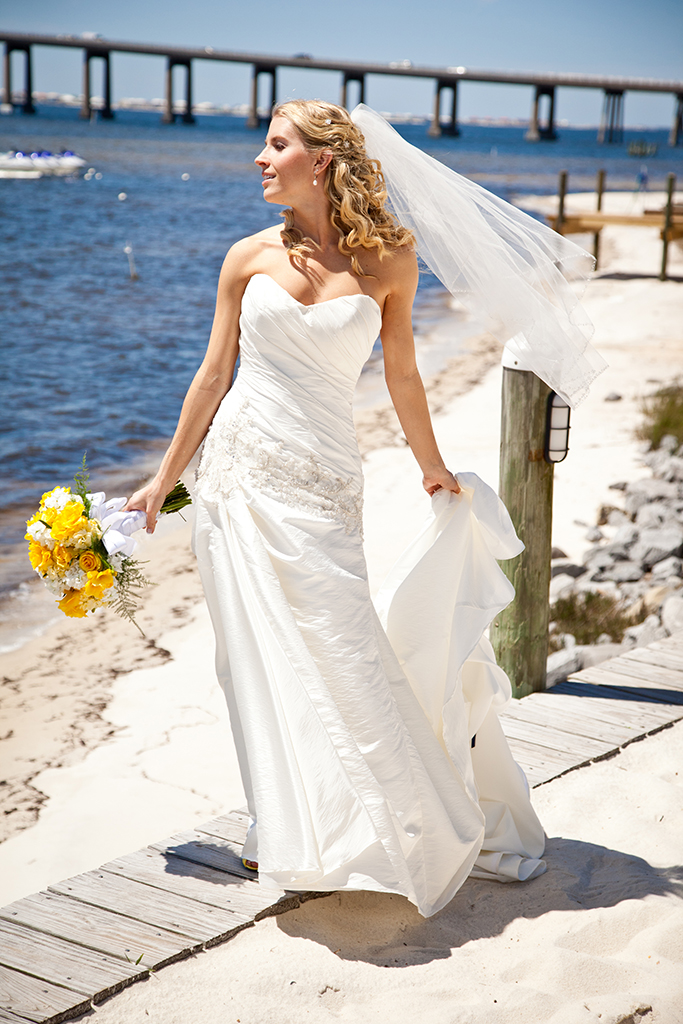 I loved my wedding dress! I knew when I put it on it was the one!