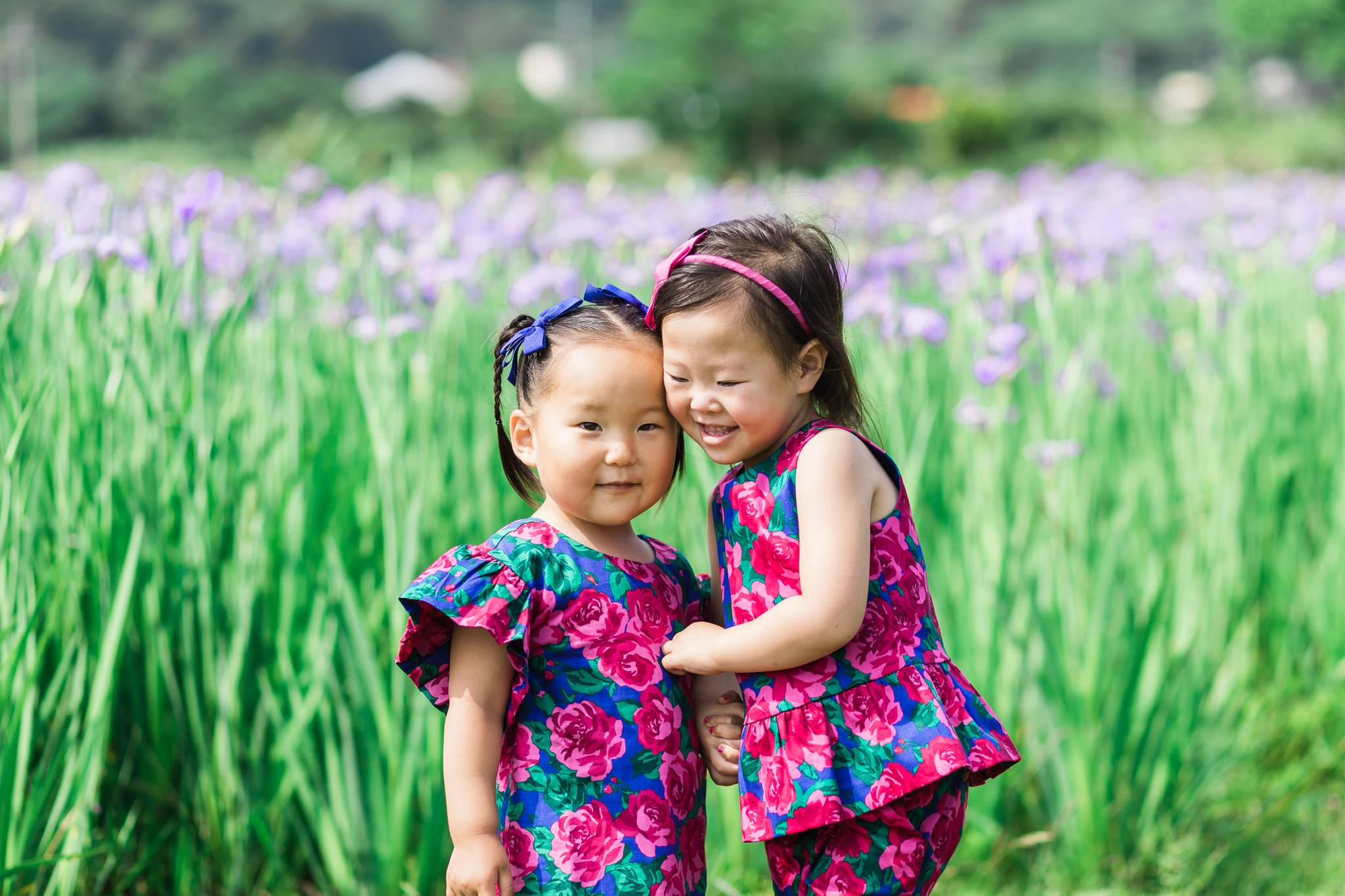 Okinawa iris field mommy and me1.jpg