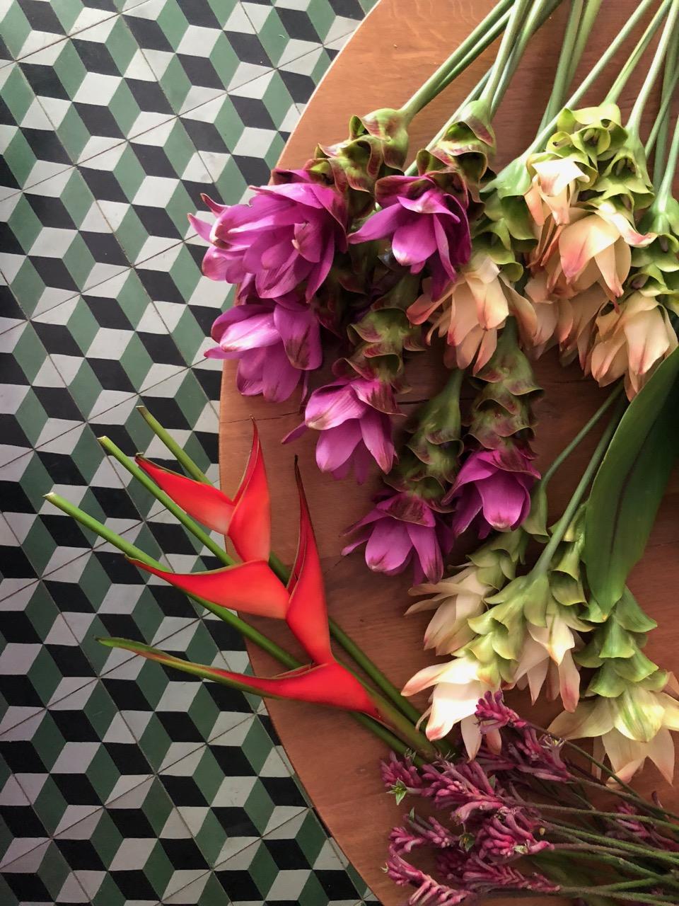 flowers for  mine  restaurant
