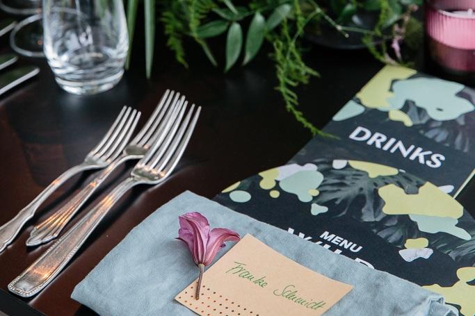 Location: Lobe Block / Catering: Wild + Wiese / Design + Styling; Wishbone / Installations: Wishbone / Florals: Wishbone / Rentals: Got Vintage / Photography: Anne Freitag