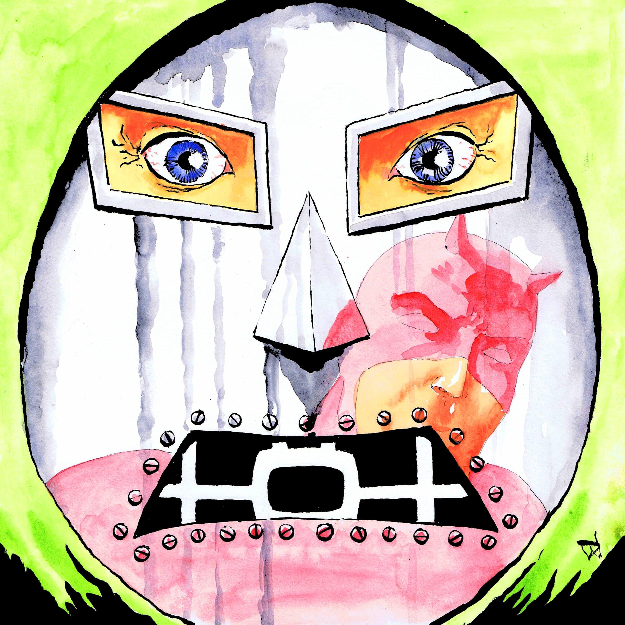 Doom! Art by David Wynne