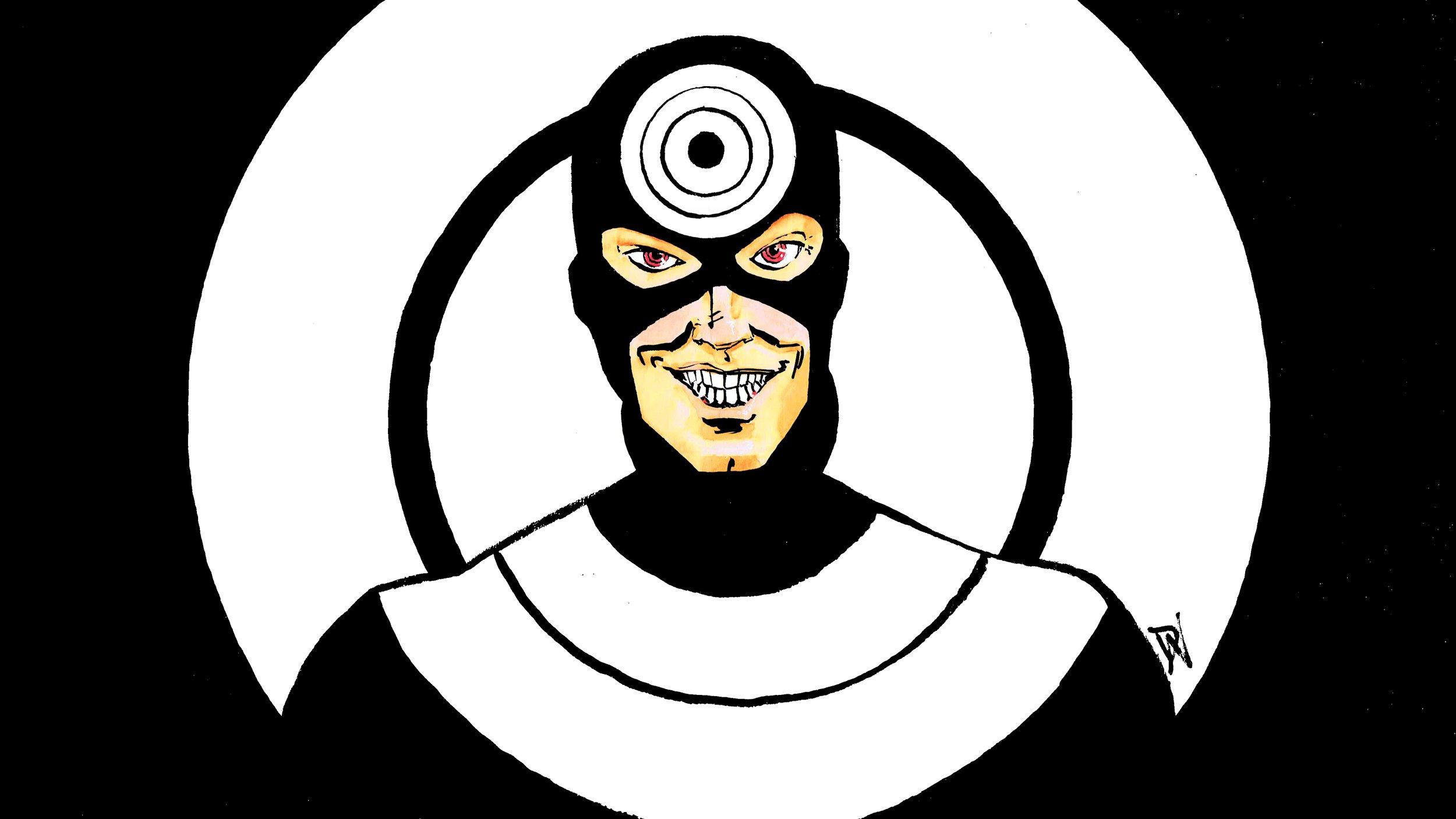 Bullseye! Art by David Wynne