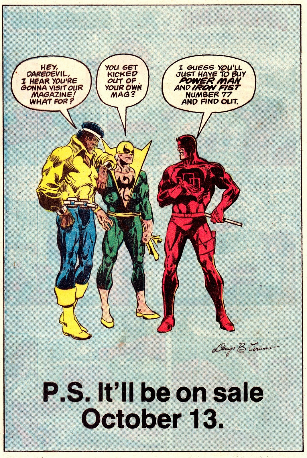 In-House ad from Daredevil 178