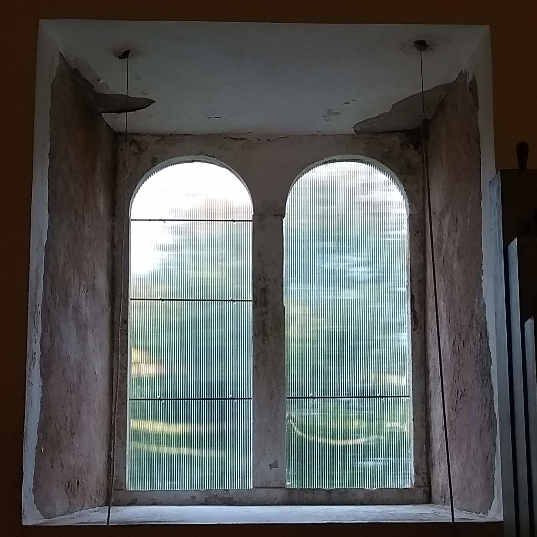 Temporary glazing