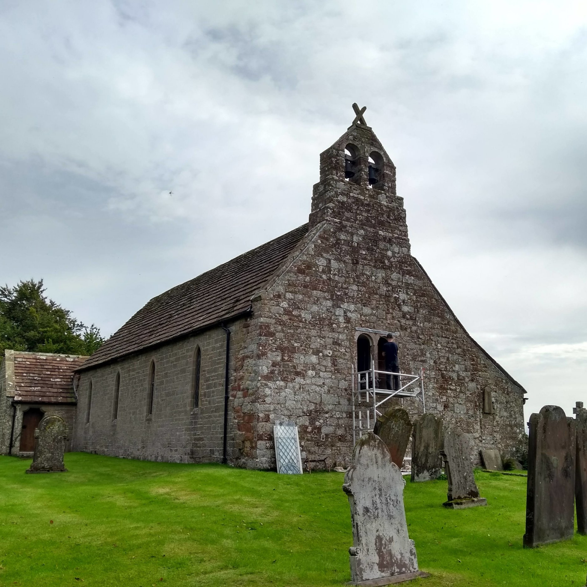 St Andrews: A beautiful norman church of the solway type