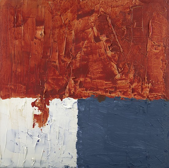 Western Wall,  2012, Acrylic on Canvas 50x50 inches