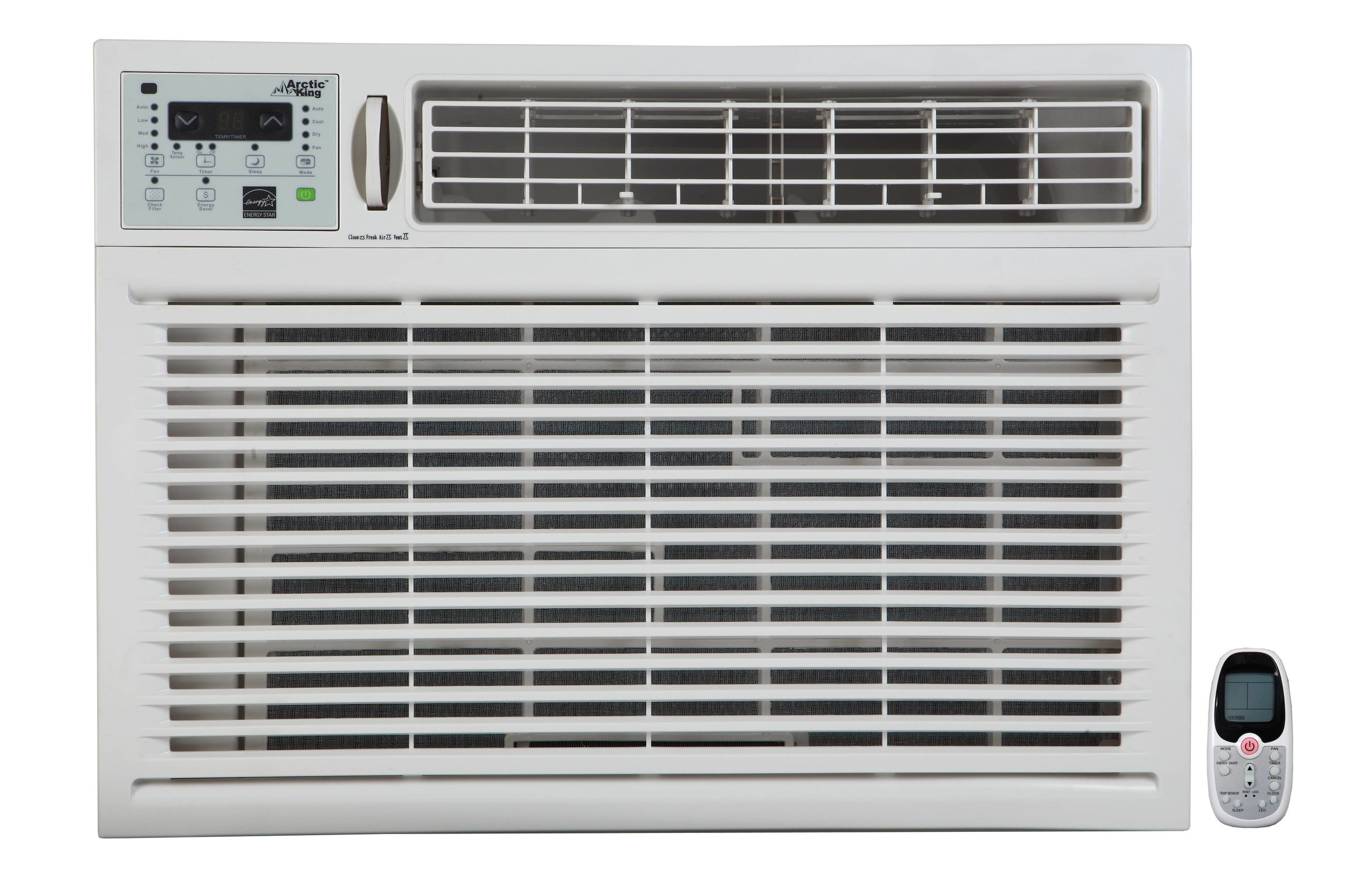 "Arctic King 25,000 BTU Window Air Conditioner 220 Volts Open Box Like New - Model: WWK25CR82Price: $ 350.00Dimension: 26.5"" W x 18.6"" H x 26.5"" DRoom Size: 850 - 1200 Sq. Ft.3 Months Limited WarrantyAvailability: In Stock"