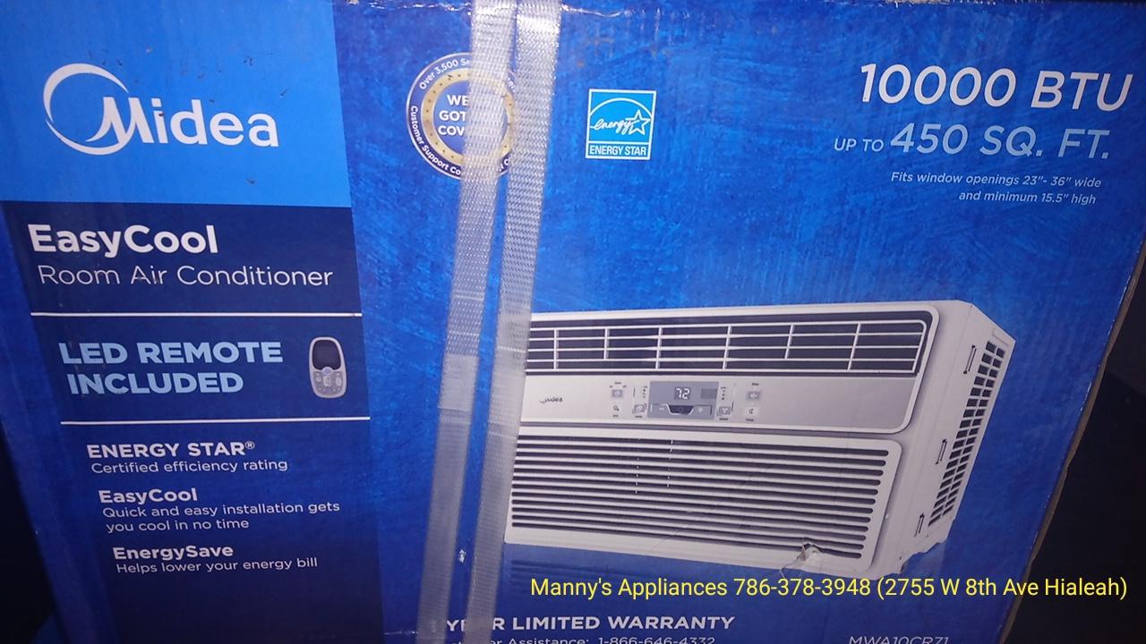 New 10,000 BTU Window A/C @ $ 250.00 ( 1 Year Warranty )