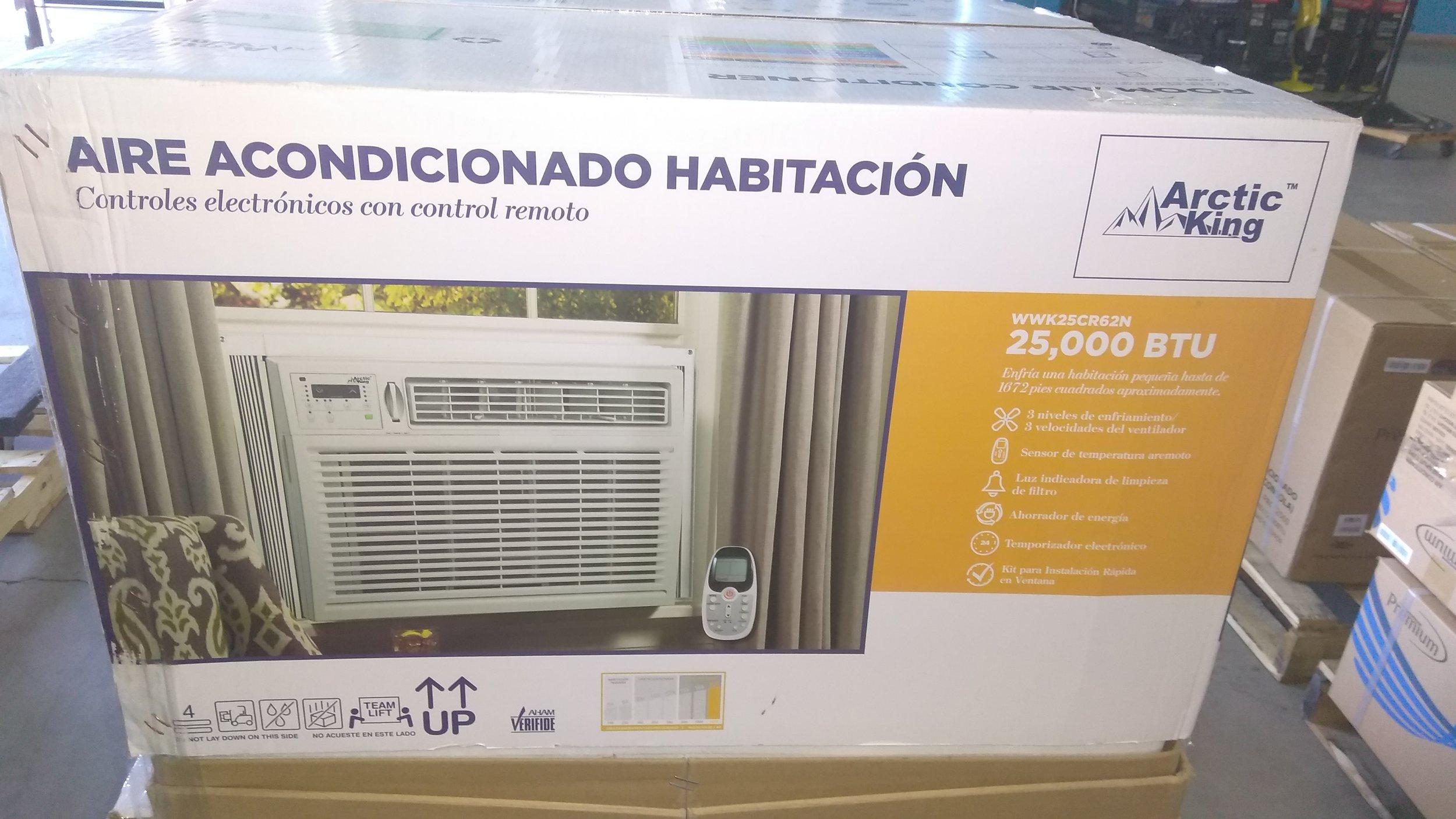 Open Box Like New 25,000 BTU Window A/C @ $ 350.00 ( 3 Months Warranty )