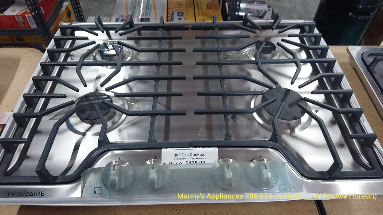 New 4 Burners Gas Cooktop @ $475.00 ( 1 Year Warranty )