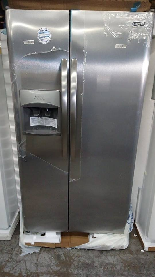 "New 36"" Side by Side Refrigerator @ $985.00 ( 1 Year Warranty )"